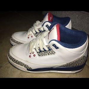 Jordan 3 retro true blue
